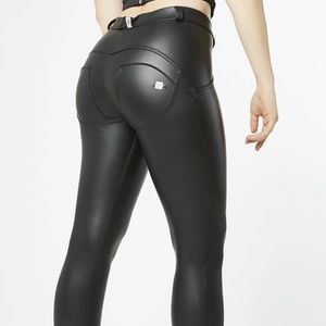WR.UP® ECO LEATHER Classic Rise Full Length Black